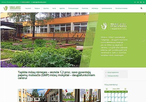 """Vilniaus """"Vilties specialioji mokykla-daugiafunkcinis centras"""