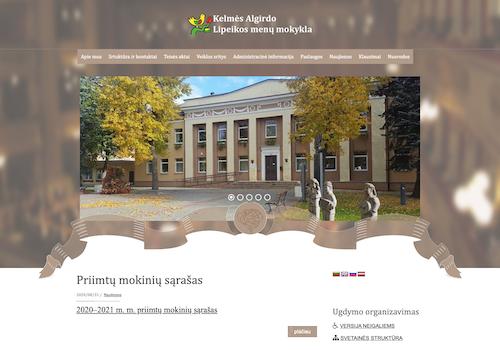 Kelmės Algirdo Lipeikos menų mokykla